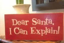 Dear Santa... / by Karen Carr