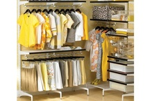 Walk In Closet Ideas / Because I'm not exactly an organized person... / by Ana Lomba