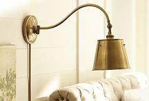 lighting / by Sharon Barrett Interiors