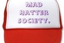 ℳAD  ▄██▄  ╠╣ATTER● / GROUP BOARD FOR EVERYONE WHO IS MAD ABOUT HATS, OR ANYONE WHO THINKS THEY ARE AS MAD AS A HATTER. ~~CLOSED GROUP, DO NOT INVITE OTHERS, I WILL DO INVITES~~  Admin  ✿ڿڰۣ(̆̃̃•Aussiegirl.....   Please Only Pin Hats And No Advertising Please.... ( Welcome To The Mad Hatter Society.) / by ✿⊱╮Aussiegirl ♛