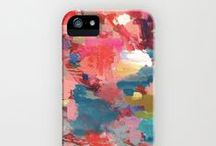 Abstract Art iPhone Cases / by Jenny Vorwaller