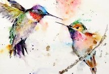 Watercolor inspiration / by Vanessa Rider