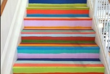 Painted Stairs / by Vanessa Rider
