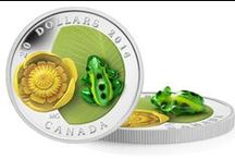 Innovation / The Mint's commitment to innovation is a key component of our success, and one of the ways we maintain our leadership position on a global scale. Many of our numismatic coins feature innovative new technologies such as holograms, colouring, laser enhancement, high-relief, and crystals.   / by Royal Canadian Mint