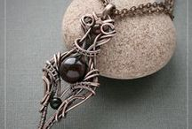 Wire Jewelries - pendants, necklaces ... / by Elise K