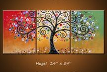 Canvas Paintings ideas / by Deydree Schroeder