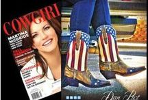 """As Seen In"" / This is an ongoing Board that features Boot Barn products in a variety of magazines.  / by Boot Barn"