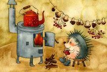Illustrations II / by Mrs Meyvelitepe