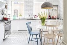 BEST KITCHEN/DINING SPACES / by Hollie Ryan