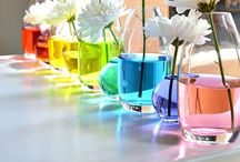 Rainbow loveliness / Anything colourful! / by Louise Davis