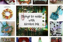 All About Alcohol Ink / Creative projects made with Adirondack Alcohol Ink #RangerInk / by Plucking Daisies (Amy Bowerman)