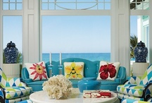 The Living Room / Living room design, layout, color, furnishings and accent inspiration / by Plucking Daisies (Amy Bowerman)