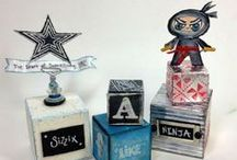 Sizzix like a Ninja / Creative Projects and Tutorials Using @Sizzix products / by Plucking Daisies (Amy Bowerman)