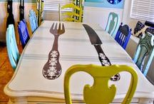 Wine and Dine / Dining rooms, dining tables and creative dining spaces / by Plucking Daisies (Amy Bowerman)