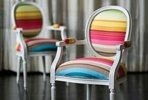 Funky Chairs / Fun and functional seating.  Unique chairs, sofas, benches and more! / by Plucking Daisies (Amy Bowerman)