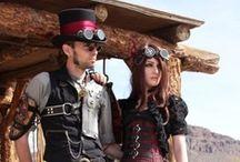 Steampunk / Neo-Victorian fashion, design, and ideals. / by Tori Foden