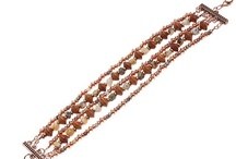 Jewelry: Bead Stringing Bracelets / by Jill Duncan-Jack