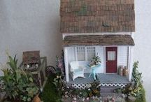 Crafts: Dolls, Dollhouses, Miniatures / Dollhouses, Trains and Miniature scenes, furniture, accessories, etc. / by Lucia  Kaiser / Design by Lucia