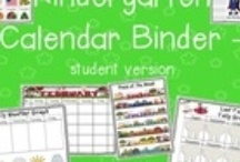 Classroom - Calendar / classroom calendar time for kindergarten / by Kindergarten Lifestyle