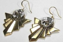 Crafts: Jewelry Steampunk / by Lucia  Kaiser / Design by Lucia