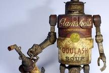 Steampunk & Robot Sculptures / by Matthew Ireland
