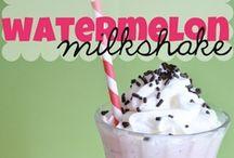 Milkshakes / by Mademoiselle Emma