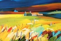 Art - Landscapes / by Dianne Gilbertson