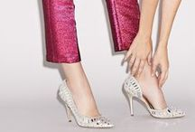 Glam-more Heels / Sparkly heels with piled on precious stones are daytime and evening-friendly. / by STEVE MADDEN