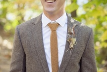 Groom Style. / It's time for the guys to step it up from the BORING rented black tux!!!!!!!!!!!  / by Morgan Marie Photography