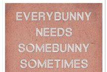 Somebunny.... / by Jan Freeman