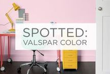 Spotted: Valspar Color / Are you using Valspar paint? Pin a photo and we just might add it to our boards! / by Valspar