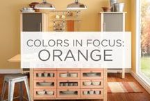Colors in Focus: Orange / Enthusiasm. Happiness. Creativity. / by Valspar