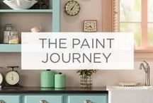 The Paint Journey / Follow one couple as they transform their home - from color selection to the perfect wall. / by Valspar