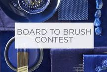 Board to Brush Contest / This contest has ended. For future promotions and daily inspiration, follow Valspar on Pinterest, Facebook and Instagram. / by Valspar