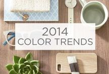 2014 Color Trends / Zenergy. Time Traveler. Yours Truly. Inspired by the latest fashion and interiors, food and lifestyle trends, these expertly curated palettes reflect our modern lives. Get the full experience at ValsparPaint.com/ColorTrends.  / by Valspar
