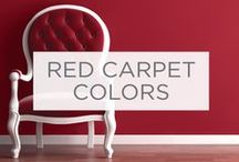 Red Carpet Colors / Every award show season is a chance to see what colors celebrities (and their stylists) love.  These are some of the more colorful looks from the red carpet.   / by Valspar
