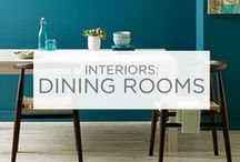 Interiors: Dining Rooms / From elegant to comfortable, formal to simple, dining rooms bring people together. Set the mood before you set the table.  / by Valspar