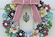 wreaths. / by Jennifer Langston