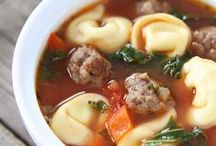 Soup Recipes / Warm up with a bowl of steaming soup!  / by Maria (Two Peas and Their Pod)
