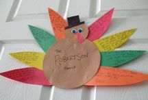 Thanksgiving crafts & decor / by Katherin Crowe