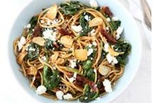 Pasta / I can never say no to pasta!  / by Maria (Two Peas and Their Pod)