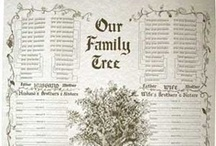 Family Trees / Beautiful family tree templates, inspiration for creating your family tree and family tree displays for the home. See genealogy research move from the page to the wall with creativity and style. / by Family Tree Magazine