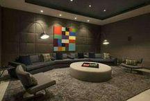Interior » Basement / Theater Room / by Jennifer McBrayer