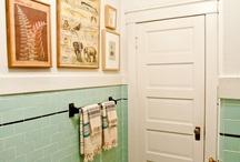 Laundry and Bathroom / by Rebecca Mackintosh