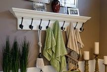 Bathroom Ideas-Decorating Ideas, Etc. / Decorating and Organizing small bathrooms!  (And future Bathroom WANTS!) / by Jennifer Eisch