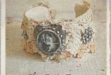 Jewelry ~ Textile Art Jewelry Inspirations! / by Kathleen Brennan