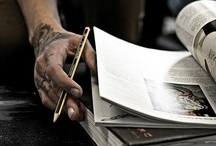 "CITY OF INK / ""Don't think it, ink it."" Mark Victor Hansen  / by Nicolas Kern de Fraiteur"