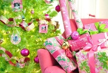 """Lilly Holiday / With a motto like """"Live Life Colorfully"""", how could a Lilly Holiday be anything but fun, bright, and full of cheer? This board consists of gifts, decorations, food, sayings, and more that embody everything the Lilly Girl loves about the holiday season.  ☃❄ www.lillypulitzer.com ❄☃ / by Megan Stahl"""