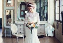 w e d d i n g / inspiration for a lovely wedding / by Laura Wilson