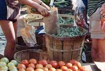 Farmers Market / Farmers Market - Boerenmarkt - tuin oogst  / by EcoBioLiving